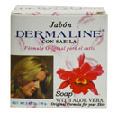DERMALINE SOAP WITH ALOE VERA 80gr