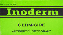INODERM SOAP GERMICIDE 80gr