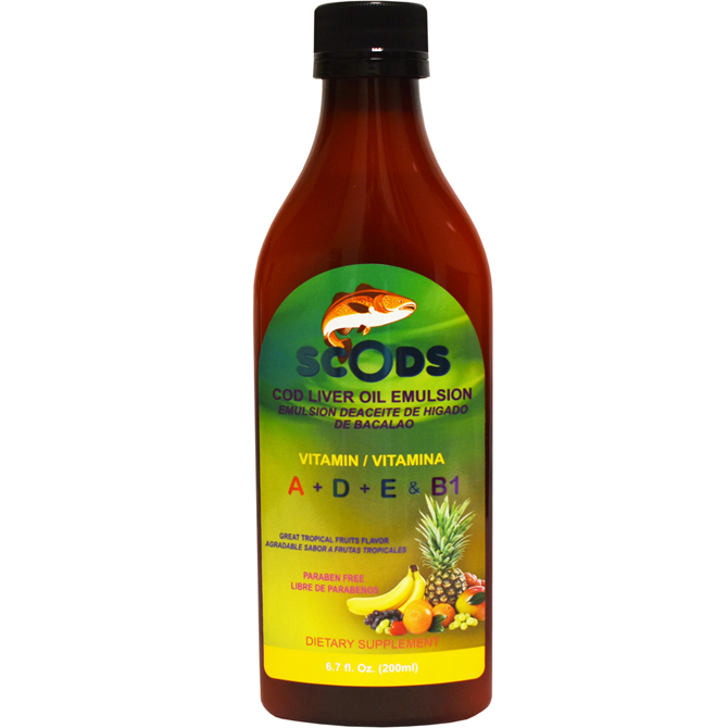 EMULSION SCODS FRUITS ELP 6.7oz
