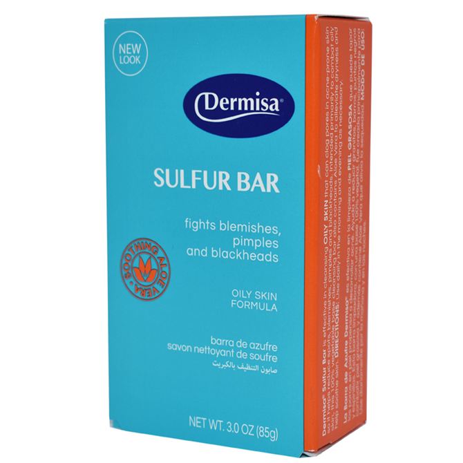 DERMISA SOAP SULFUR 3oz