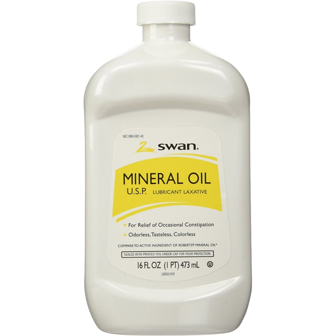 ACEITE MINERAL SWAN 16oz