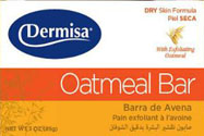 DERMISA SOAP OATMEAL 3oz