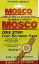 MOSCO ONE STEP PADS X8