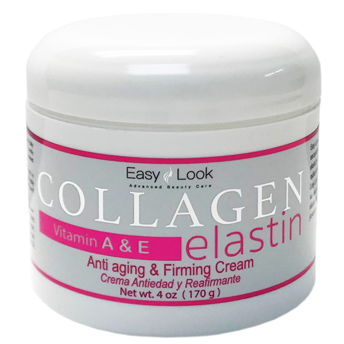 E/L COLLAGEN W/ ELASTIN AND VITAMIN A&E 4oz