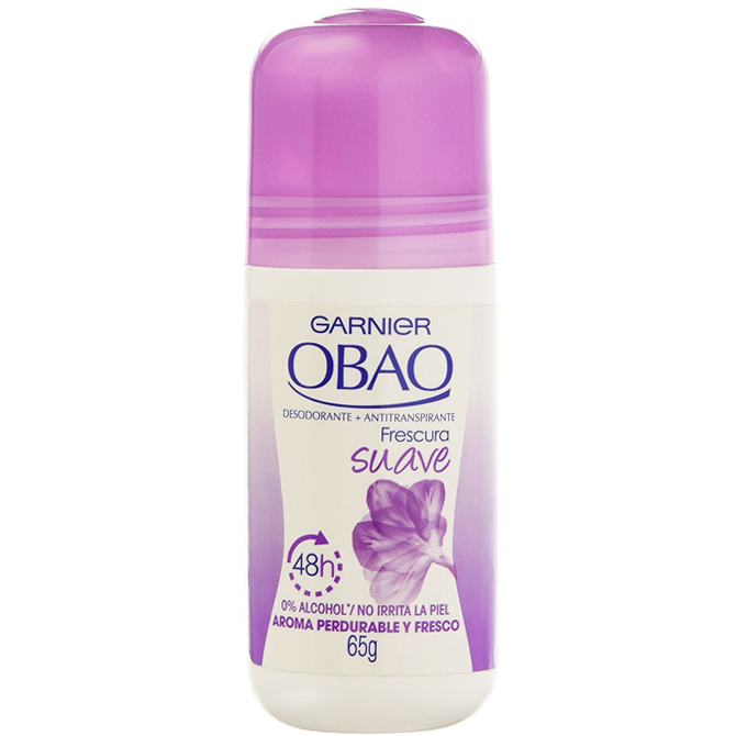 OBAO DEODORANT ROLL-ON SUAVE 65gr