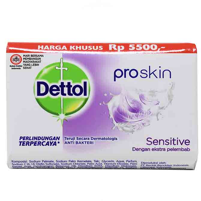 DETTOL SOAP SENSITIVE SKIN 110gr