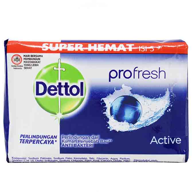 DETTOL SOAP ACTIVE110gr