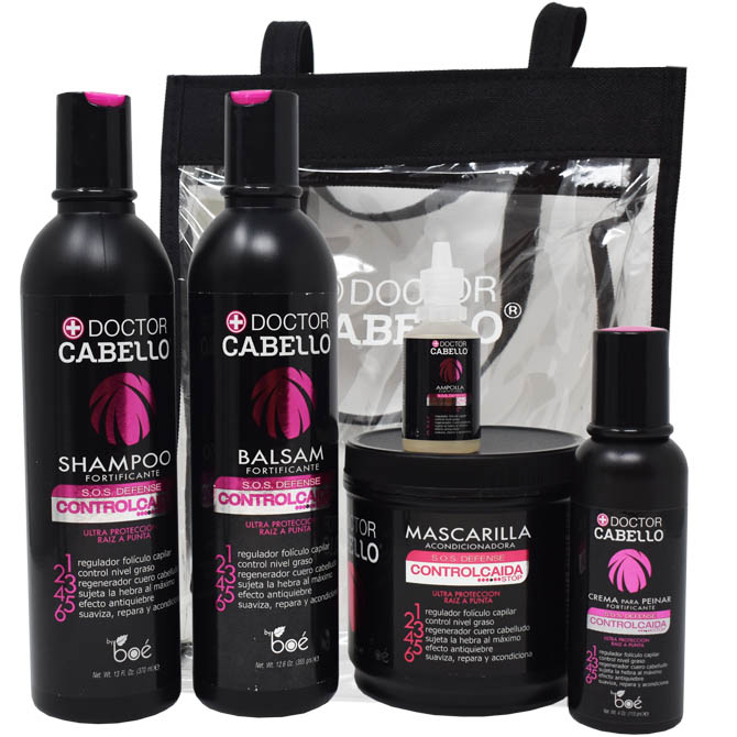 DR CABELLO HAIR CARE LOSS COMBO SET WITH TOTE BAG