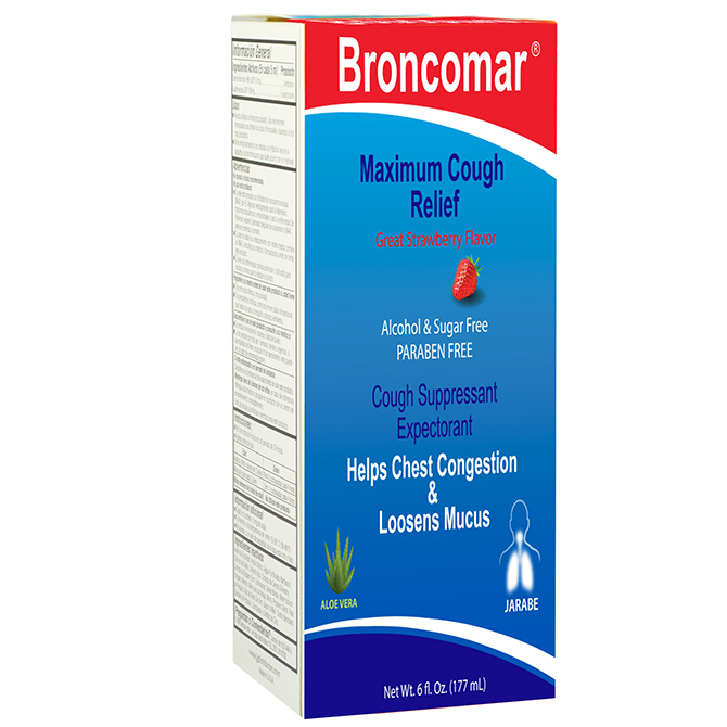 BRONCOMAR MAX COUGH ELP 6oz