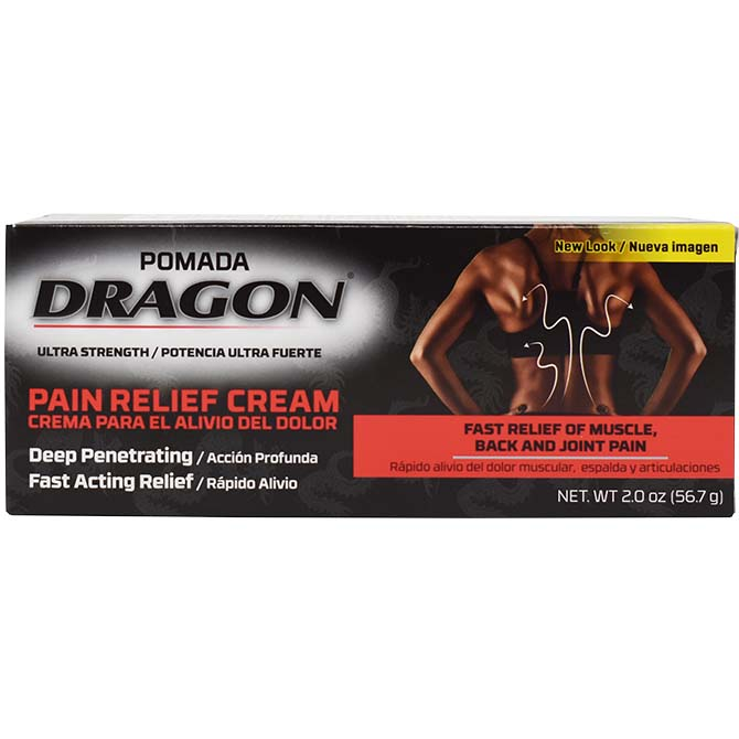GENOMMA DRAGON PAIN RELIEF CREAM 2oz