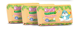 ARRURU SOAP OAT FOR BABIES 100g X 3