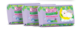ARRURU SOAP RELAXING  FOR BABIES 100G X 3