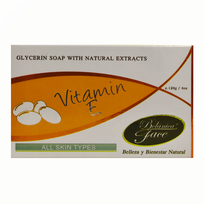 BOTANICA FACE SOAP VITAMIN E 4oz
