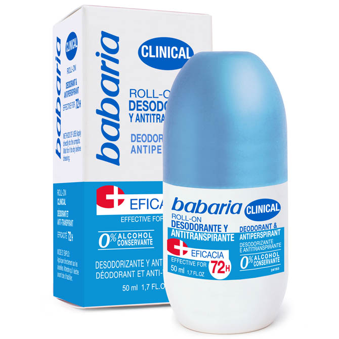 BABARIA DEODORANT ROLL-ON CLINICAL 75ml