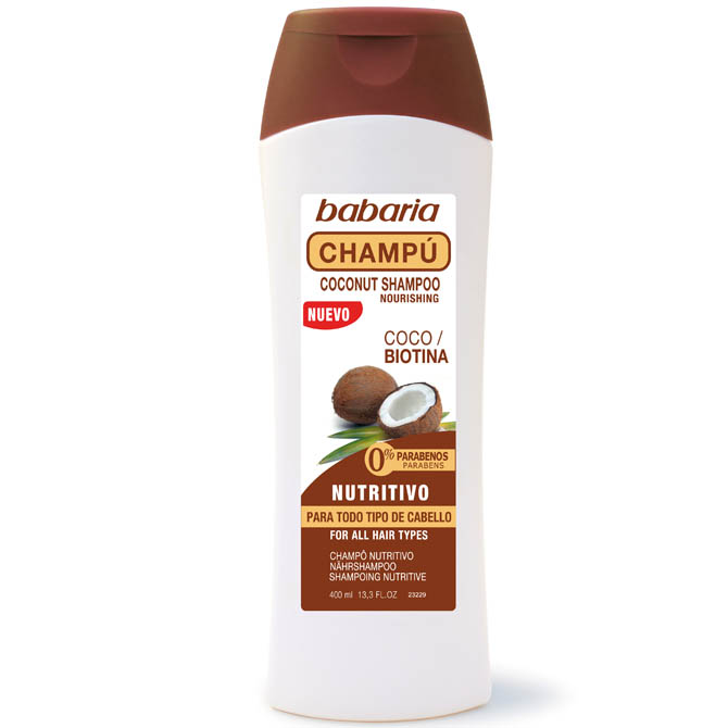 BABARIA SHAMPOO WITH COCONUT OIL 250ml