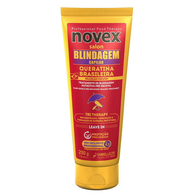 NOVEX BRAZILIAN KERATIN THERMAL PROTECTOR LEAVE-IN 7oz