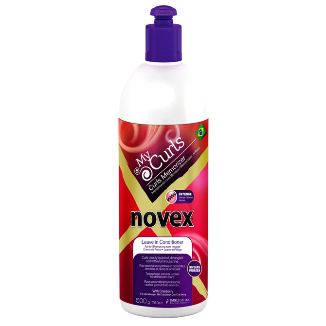 NOVEX MY CURLS MEMORIZER INTENSE LEAVE-IN 17oz