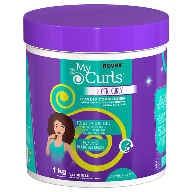 NOVEX SUPER CURLY LEAVE-IN CONDITIONER 35oz