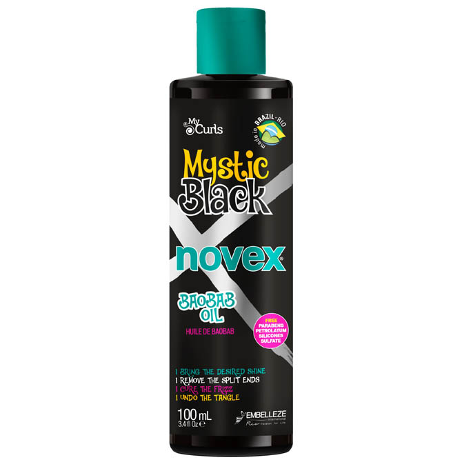NOVEX MYSTIC BLACK BAOBAB OIL 3.4oz