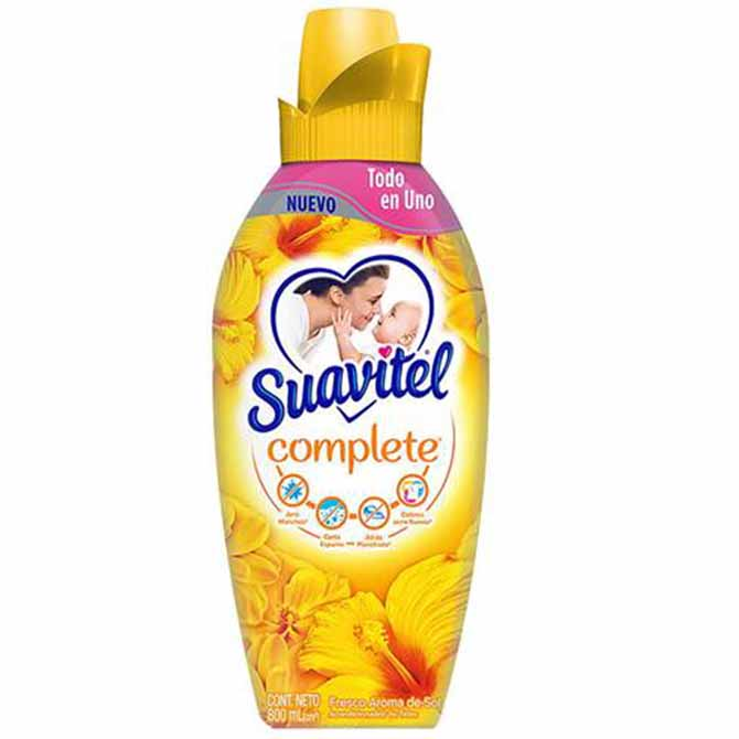 SUAVITEL FABRIC SOFTNER BESOS DE FLORES 750ml