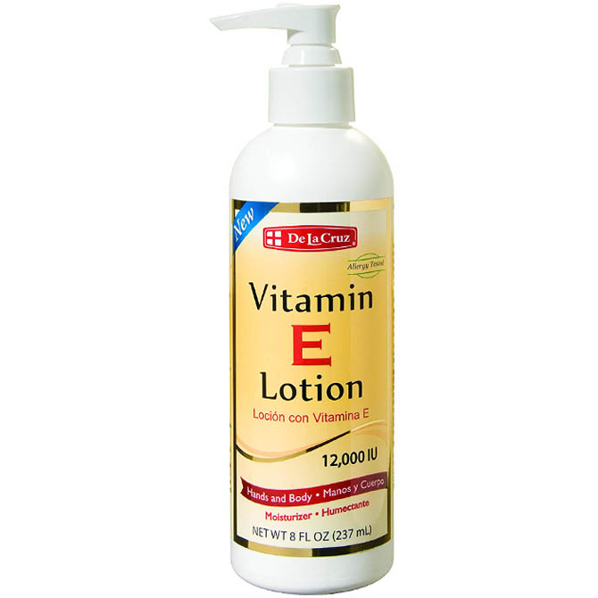 DLC VITAMIN E LOTION 12,000 IU 8oz