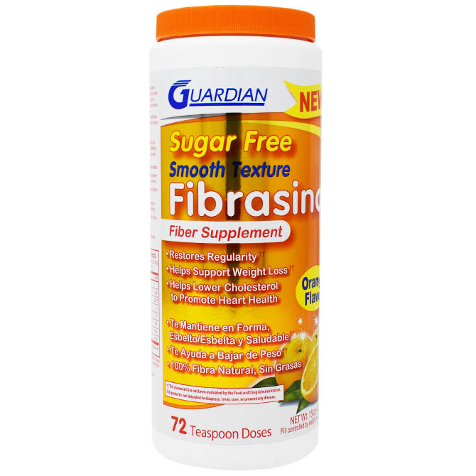 FIBRASINA POWDER ORANGE FLAVOR 15oz