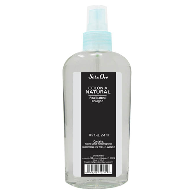 SOL DE ORO NATURAL COLOGNE 8oz