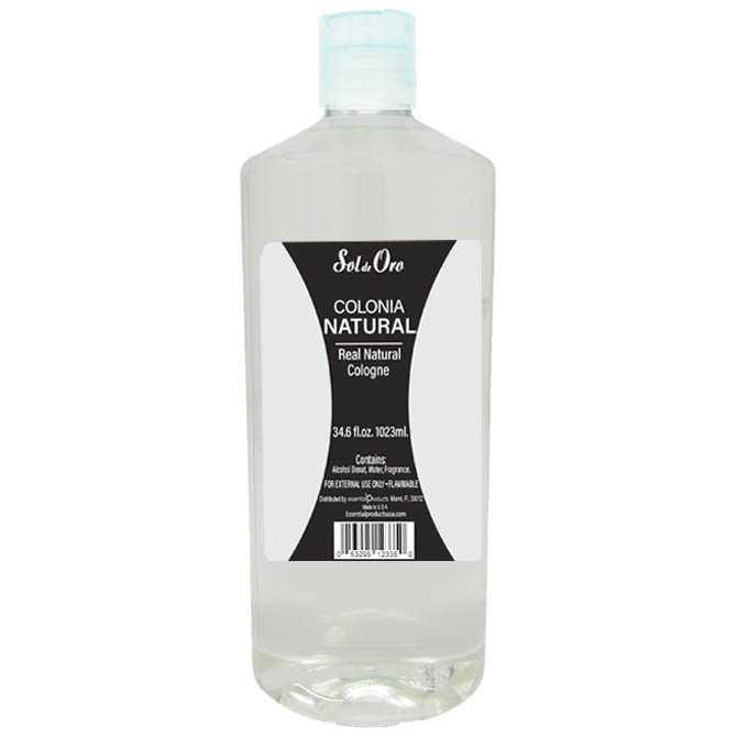 SOL DE ORO NATURAL COLOGNE 32oz