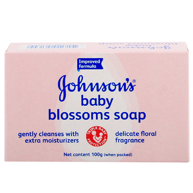 JOHNSON'S SOAP BLOSSOM  FOR BABIES 100gr