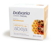 BABARIA ANTI-WRINKLE CREAM BEE VENOM 1.7oz
