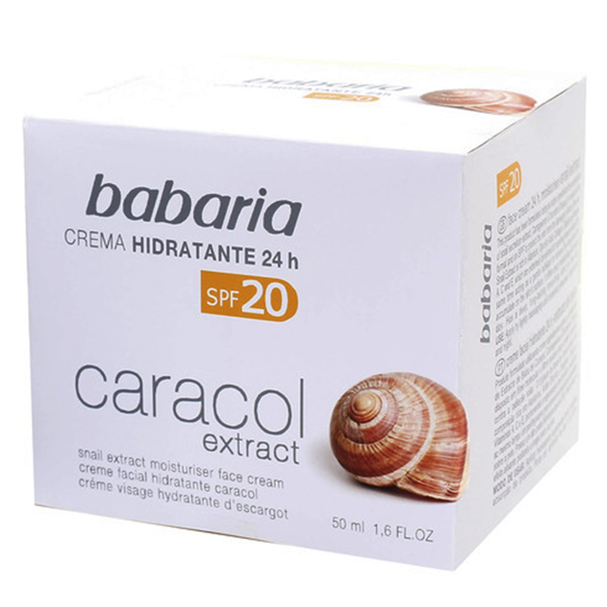 BABARIA FACE CREAM SNAIL EXTRACT 50ml